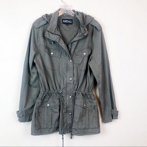 Buffalo David Bitton Green Utility Jacket